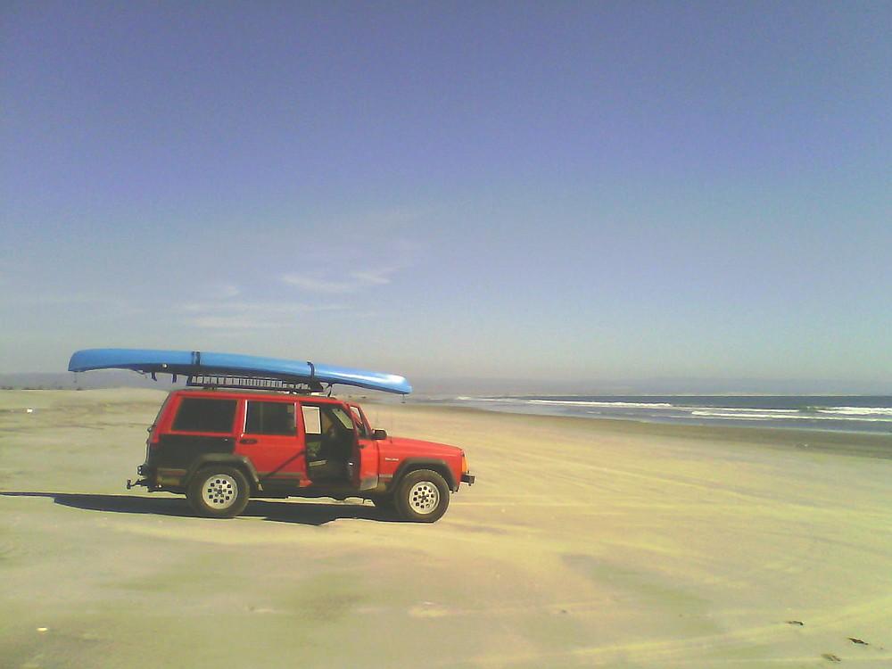 Crowded beaches...