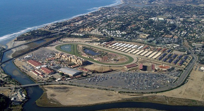 Del Mar Fairgrounds and racetrack