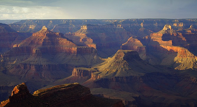 Nowhere else like it... put the Grand Canyon on your bucket list if it's not already.