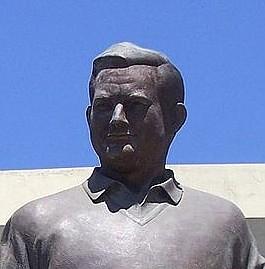 Jack Murphy statue (outside Qualcomm Stadium)