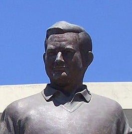 Jack Murphy statue (outside Qualcomm Stadium)