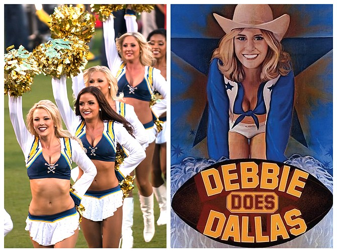We'll miss the Charger girls, but at least the uniforms are similar.
