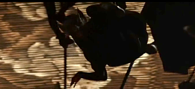 Scene from opera in Batman Begins