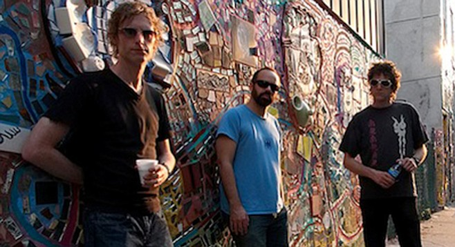 Shoegaze pioneers Swervedriver are back in the record racks and on tour. They play the Casbah March 4.
