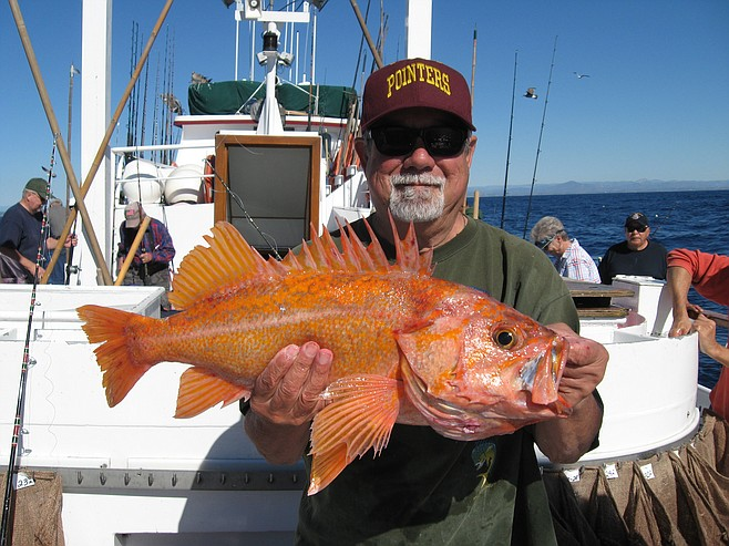 Fish report danny peters from clairemont with his jackpot for H m landing fishing report