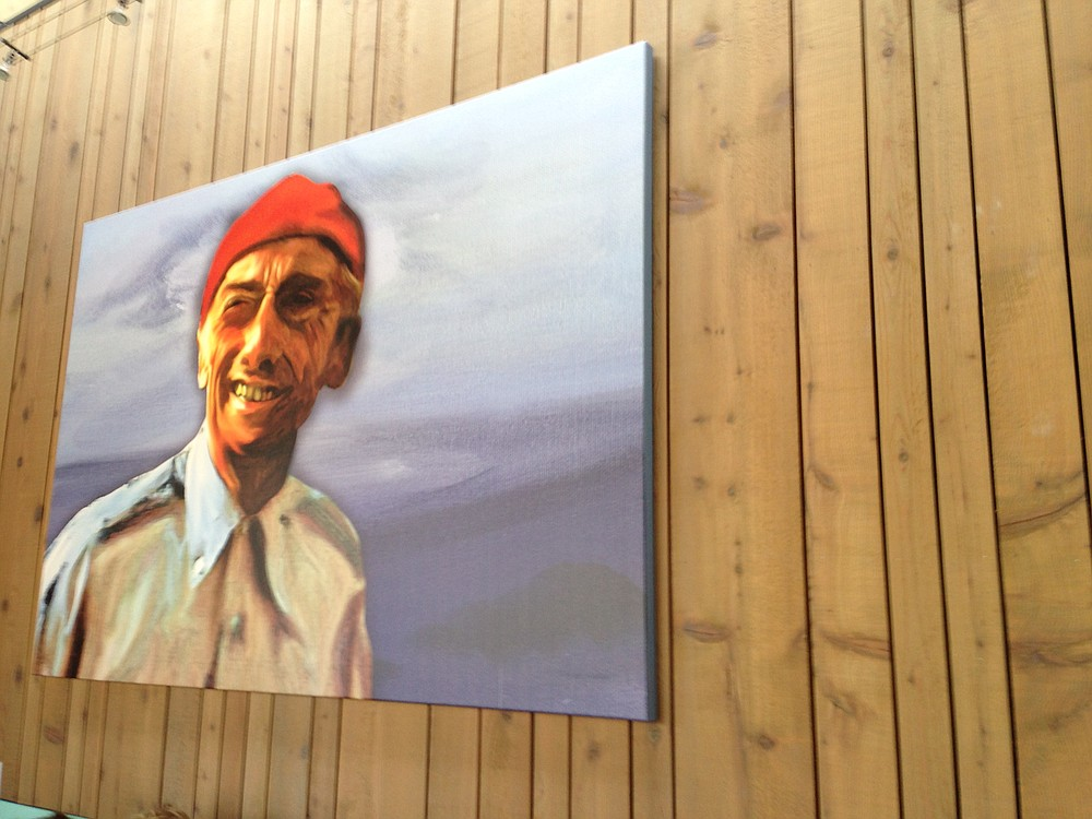 Jacques Cousteau figures heavily into the owners' vision for this place.