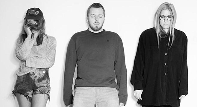 Shoegaze Canada Band No Joy will drop its beautiful fuzz bomb on Soda Bar Monday night!