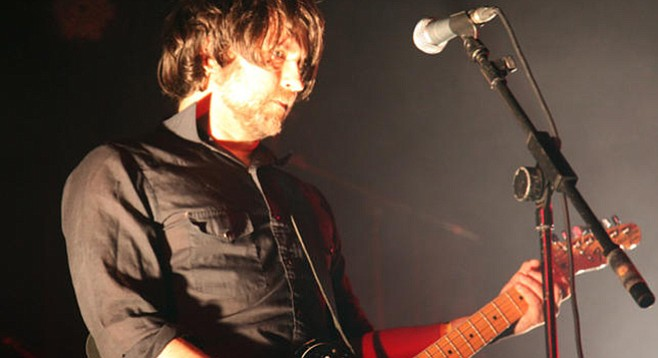 Sonic mad scientist Ben Chasny, aka Six Organs of Admittance, plugs in at Soda Bar on Saturday.