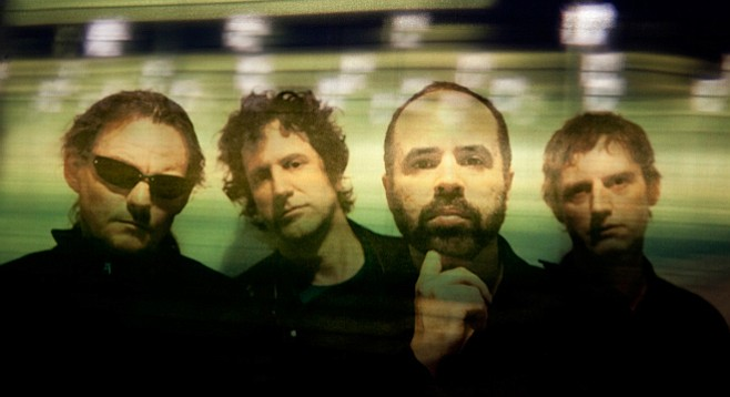 Shoegaze pioneers Swervedriver roll into Casbah on Wednesday behind their first record in 17 years, I Wasn't Born to Lose You.