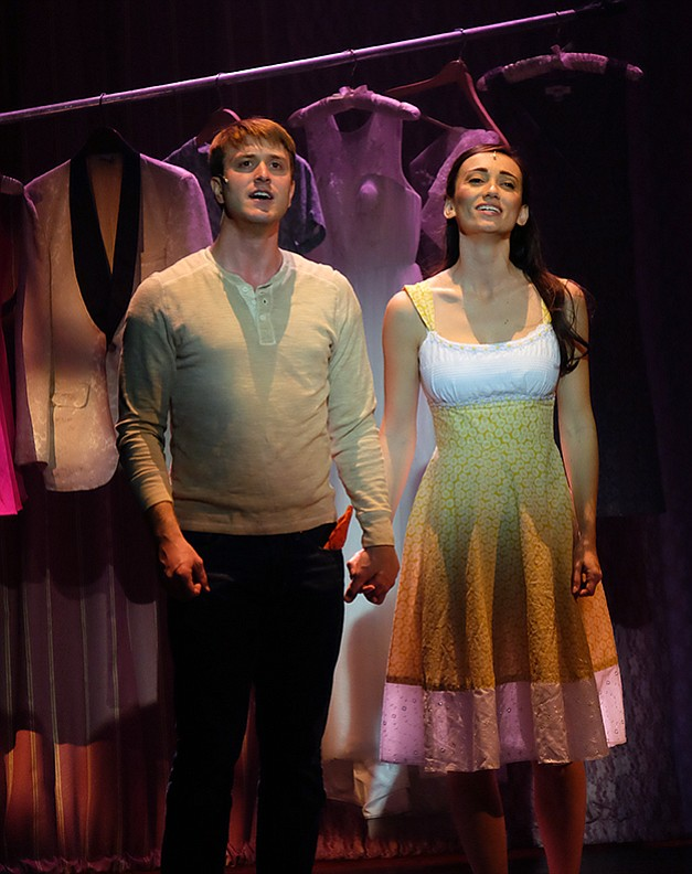 Jacob Caltrider & Jessica Soza in West Side Story at San Diego Musical Theatre