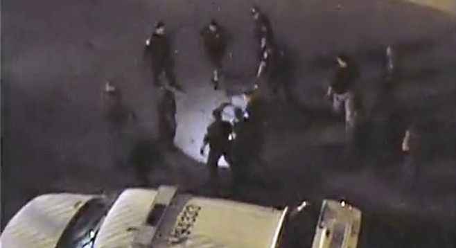 From 2010 cell-phone video of beating of Anastasio Hernández Rojas