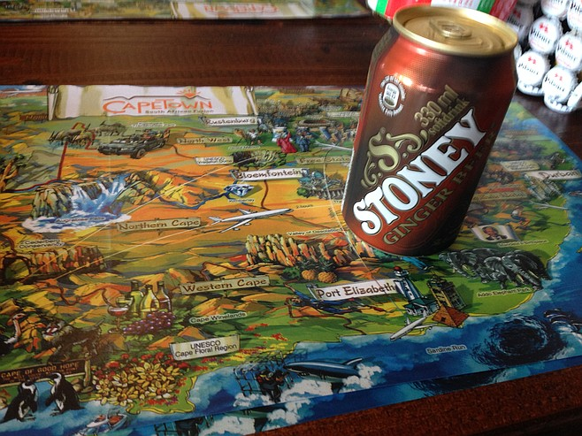 This place is trying to put Stoney ginger beer on the map.