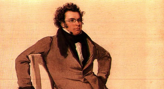 Franz Schubert. He died of syphilis because he went to whorehouses all the time.