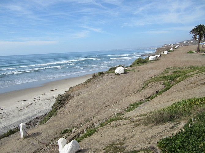 path to surfer's camp