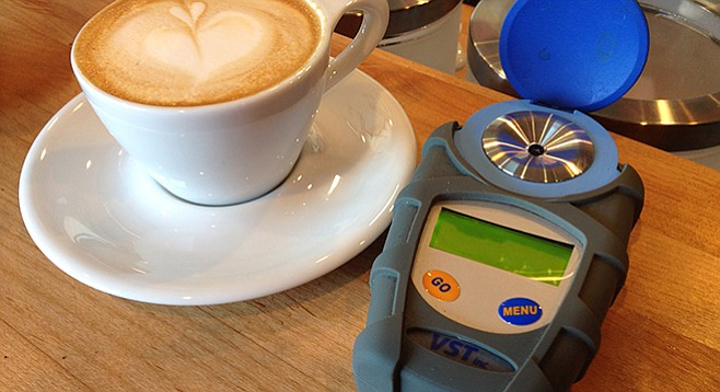 This refractometer helps Ironsmith brew better cups