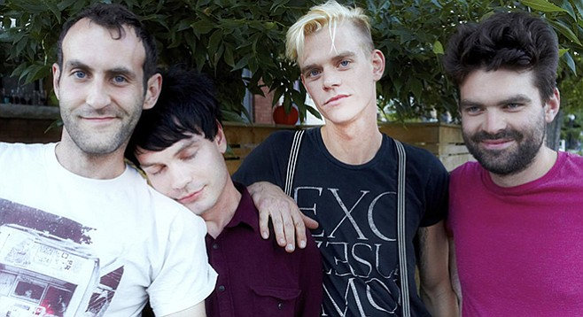 Post-punk Canada band Viet Cong plays the Soda Bar on Saturday!