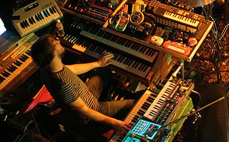 Maestro Marco Benevento will be giving magic carpet rides with his warped Wurlitzer around Winstons in O.B. on Thursday!