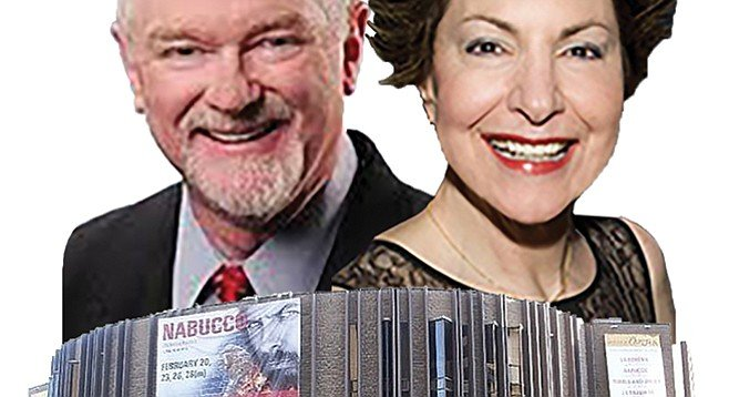 Ian Campbell and Ann Spira Campbell — who wouldn't want to give these people millions?