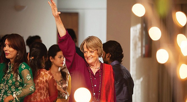 The Second Best Exotic Marigold Hotel: All hail Maggie Smith!