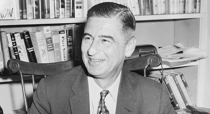 Ted Geisel (Dr. Seuss). War does strange things to a man.