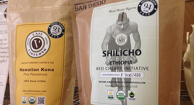 Cafe Virtuoso's Shilicho Ethiopia garnered third-place honors.