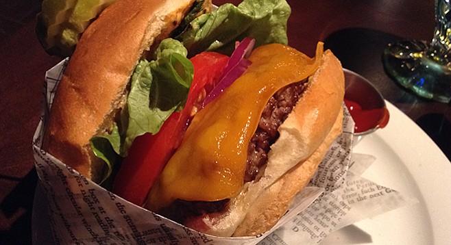 Lou & Mickey's bar burger