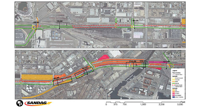 Bayshore Bikeway plans through Barrio Logan