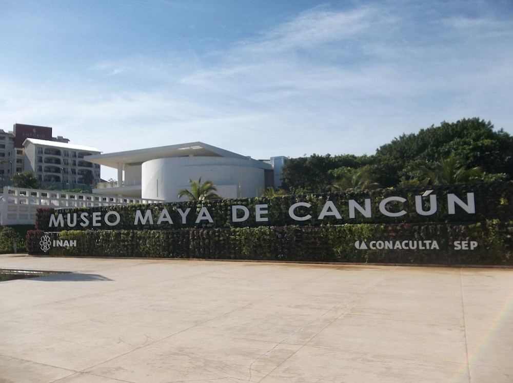 Museo de la Maya in Cancun.