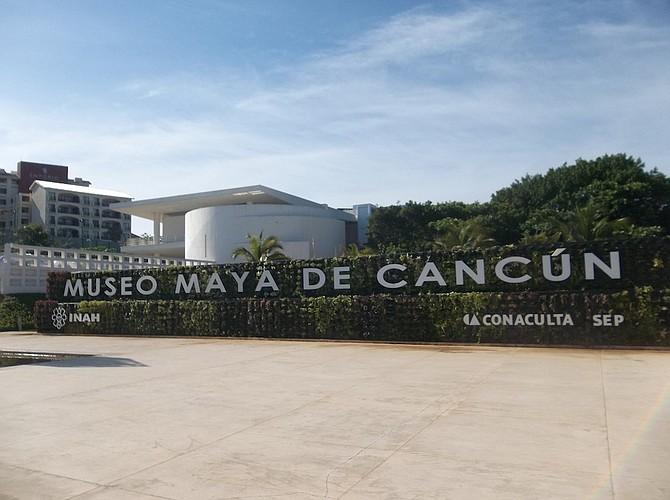 Museo de la Maya in Cancun.