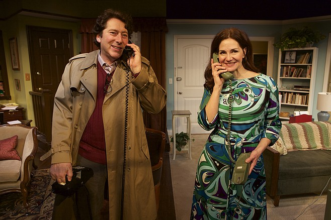 David Ellenstein and Jacquelyn Ritz in Chapter Two at North Coast Rep