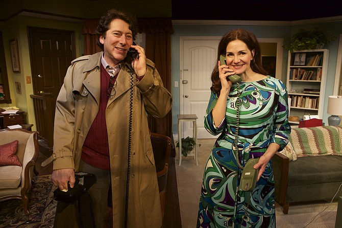 David Ellenstein and Jacquelyn Ritz in Chapter Two at North Coast Rep - Image by Aaron Rumley