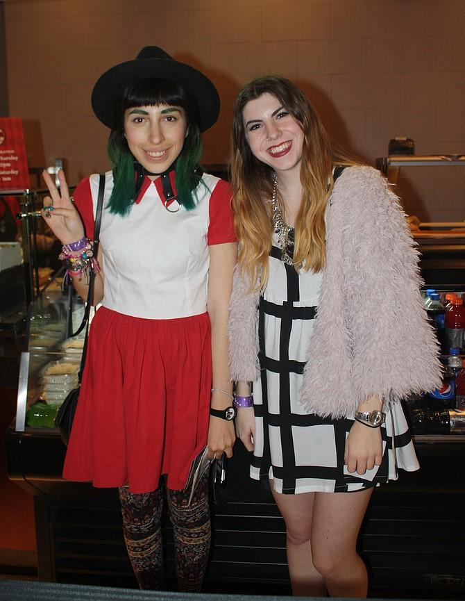 Livier Aguilar and Lindsay Knott