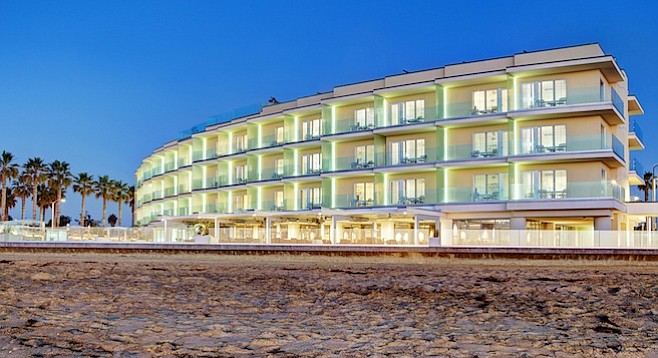 Pier South hotel in Imperial Beach (one-bedroom oceanfront suite, $359/night)