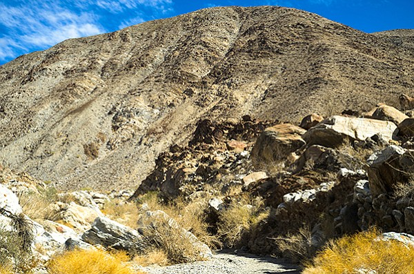 At two miles long, Lute Ridge is the largest fault scarp of this type in North America.