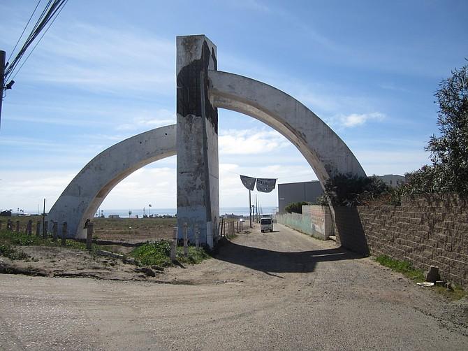 Popotla entrance