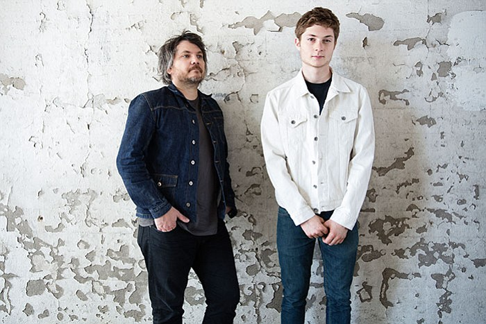 Family band Tweedy (Jeff of Wilco and drummer son Spencer) split a bill with Minus 5 at the Balboa Theatre on Tuesday.