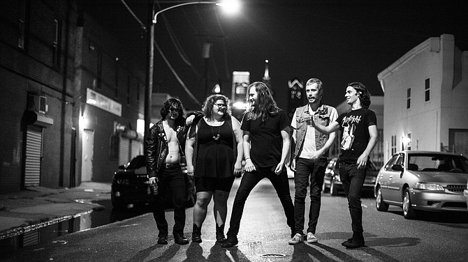 Philly punk-n-roll five-piece Sheer Mag takes the Tower on Wednesday!