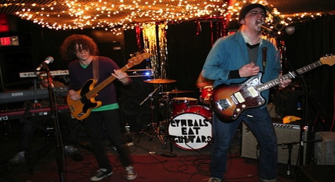 Jersey boys Cymbals Eat Guitars bring their brand of indie to Casbah on Thursday.