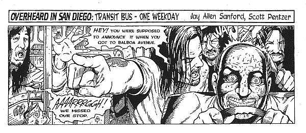 """""""Pilot"""" edition, January 1996.  This tryout strip sold the Reader on picking up the comic."""