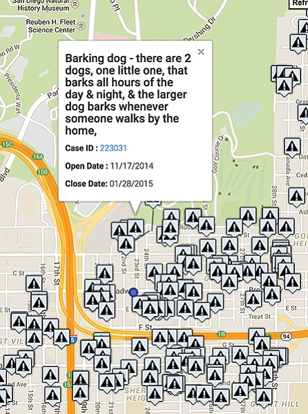 Go to the OpenSDS map to find out what makes the neighbors livid.