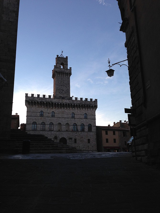 My favorite city Montepulciano in Italy.