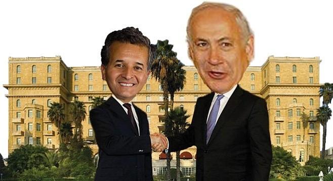 Juan Vargas and Benjamin Netanyahu