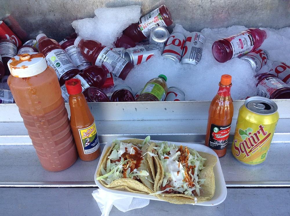 Las super ranas tacos — not actually frogs!