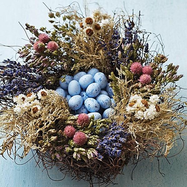 Williams-Sonoma nest with truffle eggs