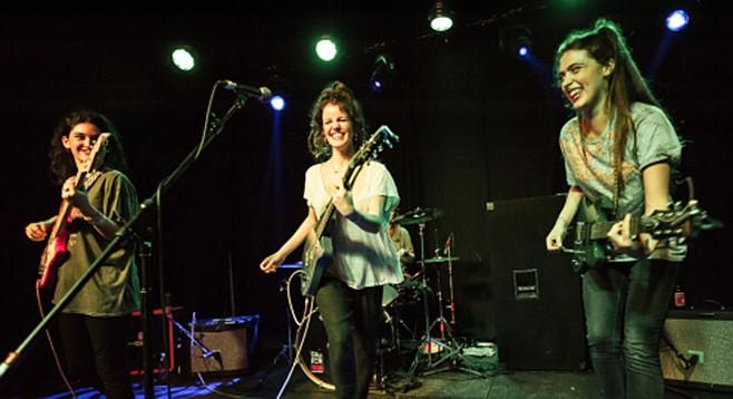 Spanish indie band Hinds headlines sets at Soda Bar Sunday night!