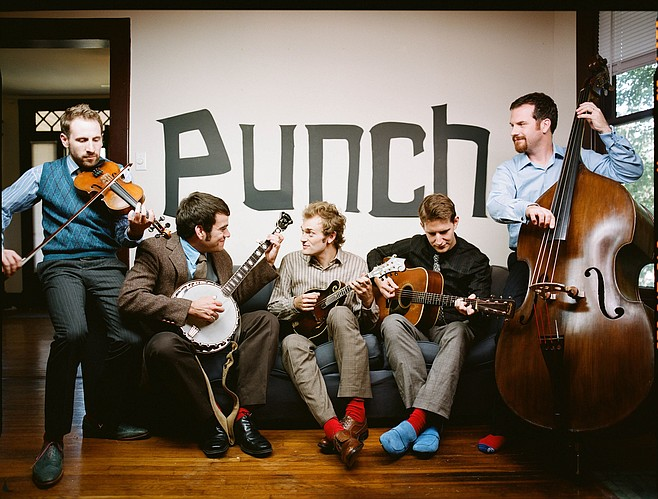 Roots players the Punch Brothers take the stage at Observatory North Park on Wednesday.