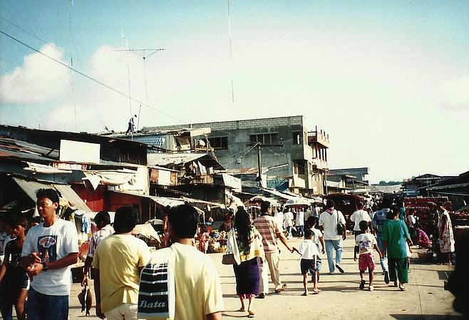 Main Street Bongao.