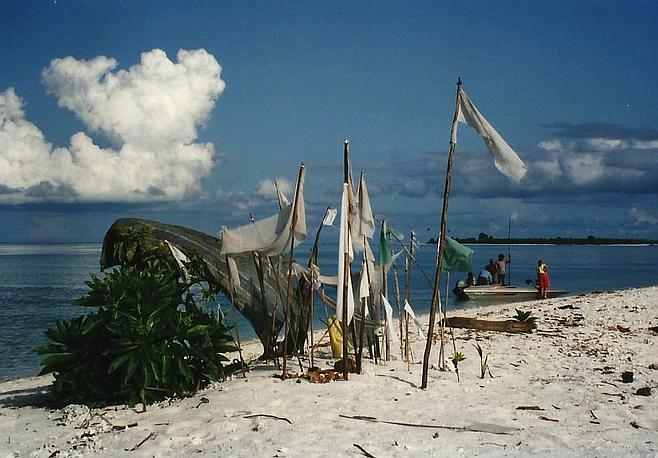 A Bajao island.