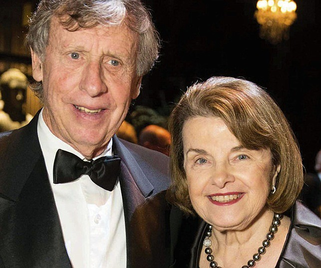 Richard Blum and Dianne Feinstein