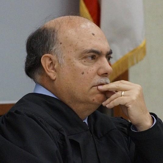 Judge Carlos Armour sentenced Roldan